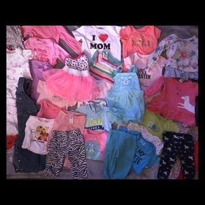 Other - HUGE lot of girls clothes size 12 months!